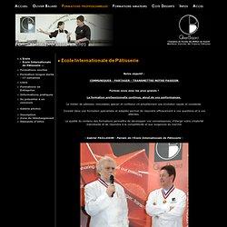 OLIVIER BAJARD - Meilleur Ouvrier de France de Pâtisserie - - Ecole Internationale de Pâtisserie