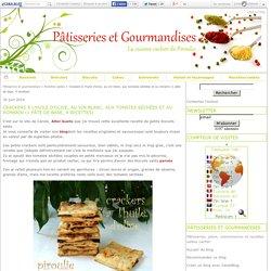 Crackers à l'huile d'olive, au vin blanc, aux tomates séchées et au romarin (1 pâte de base, 4 recettes)