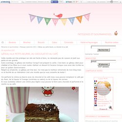 Gâteau aux petits-beurre, au chocolat et au café