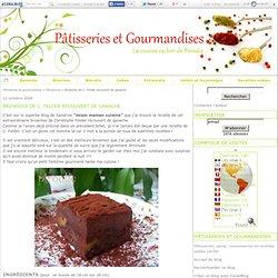 Brownies de C. Felder recouvert de ganache