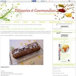 """Cake au Café, au Chocolat et au Whisky des """"cakes de sophie"""""""