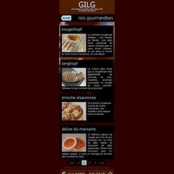 Gilg, maître pâtissier chocolatier traiteur