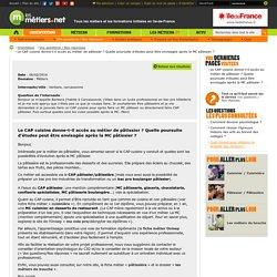 Fiche m tier cuisine pearltrees - Programme bac pro cuisine ...