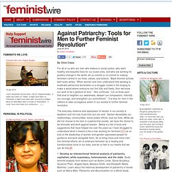 Against Patriarchy: Tools for Men to Further Feminist Revolution*