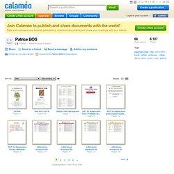 Patrice BOS on Calaméo