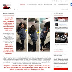 Patrice Banks Female Mechanic that Caters to Women