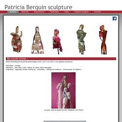 Patricia BERQUIN sculpture textile art afrique