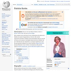 Patricia Karim