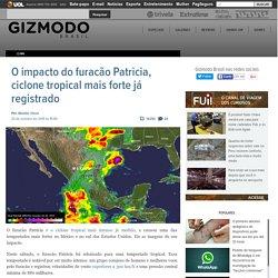 O impacto do furacão Patricia, ciclone tropical mais forte já registrado