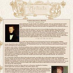 Patrick Branwell Brontë, Victorian Art History