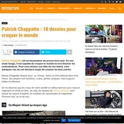 Patrick Chappatte : 18 dessins pour croquer le monde