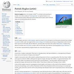 Patrick Hughes (artist)