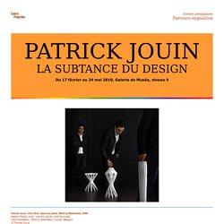 ARTICLE: PATRICK JOUIN -F