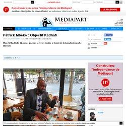 Patrick Mbeko : Objectif Kadhafi