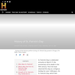 of St. Patrick's Day - Facts, Meaning & Traditions