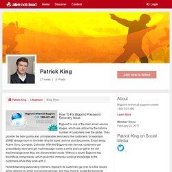 Patrick King - my profile -alivenotdead.com