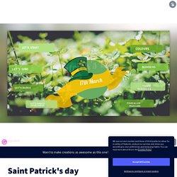 Saint Patrick séquence interactive complète