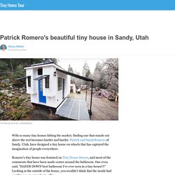 Patrick Romero's beautiful tiny house in Sandy, Utah