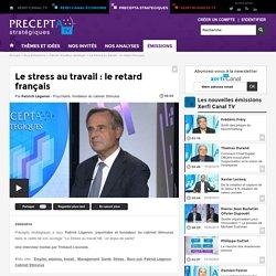 Le stress au travail : le retard français