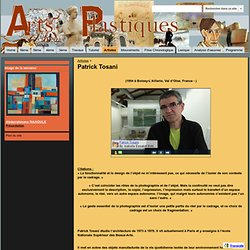 Patrick Tosani - Arts Plastiques