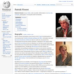 Patrick Viveret [Monnaie complémentaire]