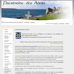 Patrimoine des Abers - Le patrimoine de Lannilis