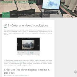 Patrimoine et numérique - #19 - Créer une frise chronologique