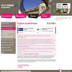 Culture et patrimoine - Conseil départemental de Lot et Garonne