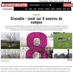 Patrimoine Grenoble : Grenoble : zoom sur 8 œuvres du campus - article publié par La rédaction