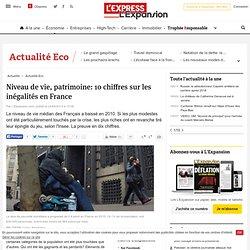 Niveau de vie: comment les inégalités se sont creusées en France