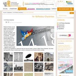 14-18 Poitou-Charentes - Patrimoine et inventaire de Poitou-Charentes