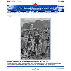 Patrimoine Militaire Canadien