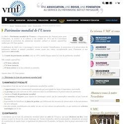 Le label Patrimoine mondial de l'UNESCO