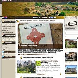 Patrimoine, à visiter, Châteaux, monuments dans la Nièvre - Bourgogne Visite.org