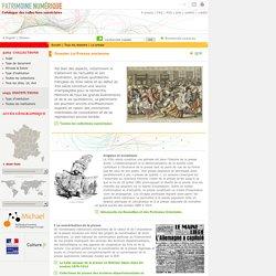 Patrimoine numérique, dossier - La Presse ancienne