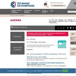 CCI Marne - Colloque Sécurisez votre patrimoine numérique et vos données personnelles - Reims