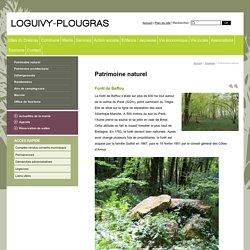Patrimoine naturel - Mairie de Loguivy-Plougras en Bretagne dans les Côtes d'Armor