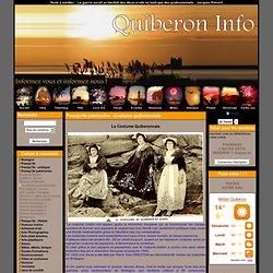 A Quiberon et St Pierre Quiberon, toute l'info de la presqu'île - Presqu'île patrimoine - Costume quiberonnais