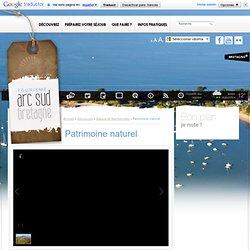 Patrimoine naturel / Nature et Randonnées / Découvrez / Tourisme Arc Sud Bretagne