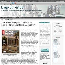 Patrimoine et espace public : une histoire de représentation… graphique