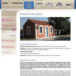 Musée du patrimoine du Pays Royannais - Accueil - Communes - Mortagne-sur-Gironde - Musée de la carte postale