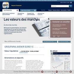 Gan Patrimoine Stratégies - GROUPAMA AVENIR EURO I C - Gan Patrimoine