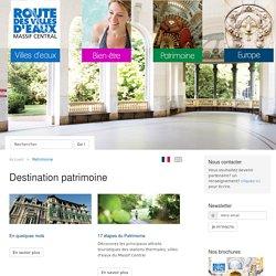 Patrimoine touristique et thermal - Villes d'eaux.com