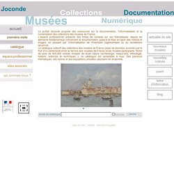Base Joconde : catalogue des collections des musées de France