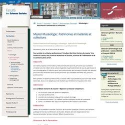 Master 2 Pro Muséologie Strasbourg