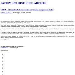 PATRIMONI HISTORIC i ARTISTIC