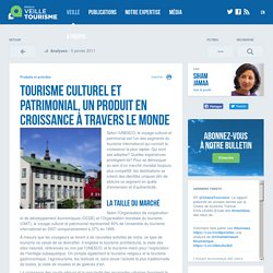 Tourisme culturel et patrimonial, un produit en croissance à travers le monde - Réseau de veille en tourisme
