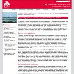 Les conséquences du processus de patrimonialisation à Dinard