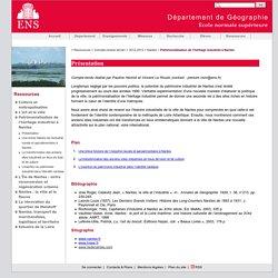 Patrimonialisation de l'héritage industriel à Nantes