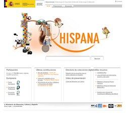 Hispana: portal de acceso al patrimonio digital y agregador nacional de Europeana > Inicio